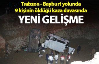 Trabzon - Bayburt hattında 9 kişinin öldüğü...