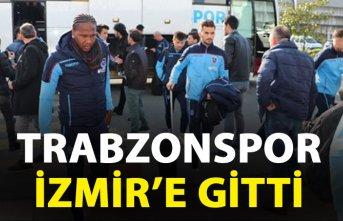Trabzonspor, İzmir'e gitti
