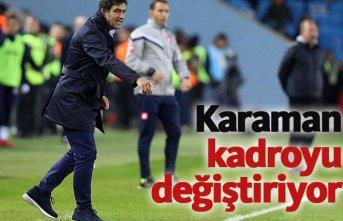 Trabzonspor'da kadro planı değişiyor