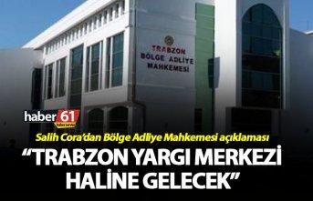 """İstinaf mahkemesi açıklaması - """"Trabzon yargı merkezi haline gelecek"""""""