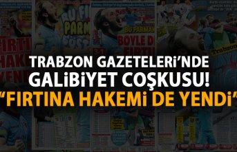 Trabzon gazetelerinde galibiyet coşkusu