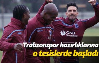 Trabzonspor hazırlıklarına o tesislerde başladı