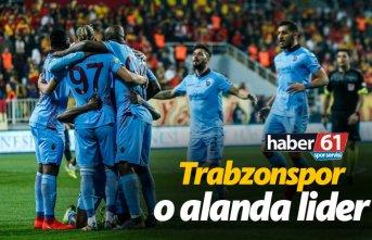 Trabzonspor o alanda lider