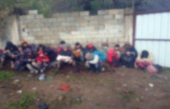 Van'da 39 kaçak göçmen yakalandı