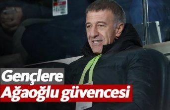 Trabzonspor'da gençlere Ağaoğlu güvencesi