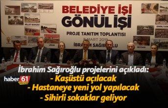 Yomra Belediye Başkan Adayı İbrahim Sağıroğlu projelerini açıkladı!
