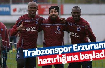 Trabzonspor'da Erzurum hazırlıkları başladı