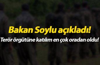 Bakan Soylu açıkladı! PKK'ya katılım en...