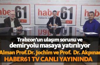 Trabzon'un ulaşım sorunu Haber61 TV'de...
