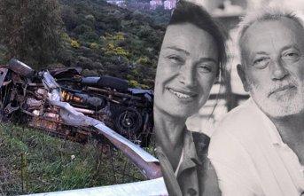 Demet Akbağ'ın eşi Zafer Çika kazada hayatını...
