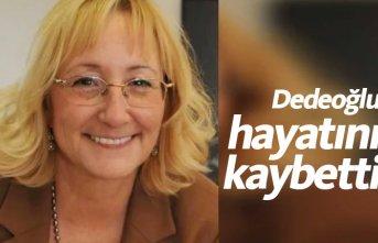 Prof. Dr. Beril Dedeoğlu hayatını kaybetti! Beril...