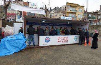 Trabzon'da üçüncü tanzim satış yeri hizmete...