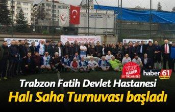Trabzon Fatih Devlet Hastanesi'nin Halı Saha...