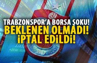 Trabzonspor'a borsada şok!