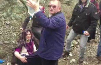 Cenazeye giden otobüs kaza yaptı: 35 yaralı