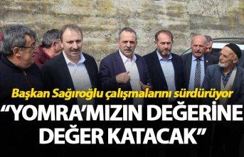 """İbrahim Sağıroğlu: """"Yomra'mızın değerine..."""