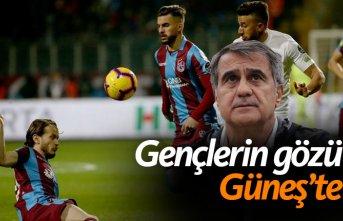 Trabzonsporlu gençlerin gözü kulağı Güneş'te