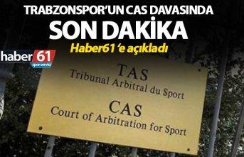 Trabzonspor'un CAS davasında son dakika - Haber61...