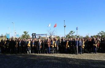 Trabzon'da yangın çıkan üniversitede eğitime kaldığı yerden devam edildi