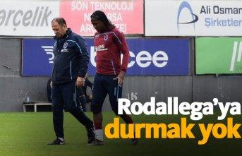 Trabzonspor'da Rodallega'ya durmak yok