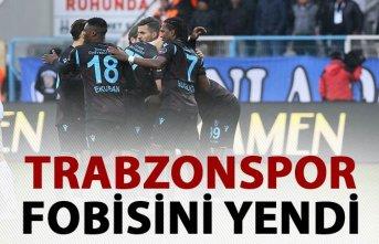 Trabzonspor deplasman fobisini yendi