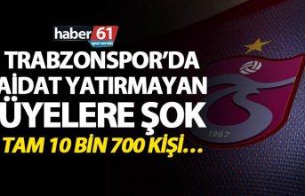 Trabzonspor'da Aidat yatırmayan üyelere şok -...