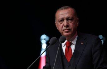 """Cumhurbaşkanı Erdoğan: """"Türkiye'nin güçlü durmaktan başka hiçbir yolu yok"""""""