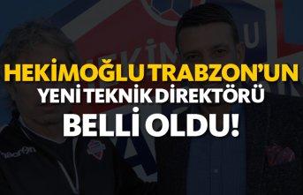 Hekimoğlu Trabzon'un yeni teknik direktörü...