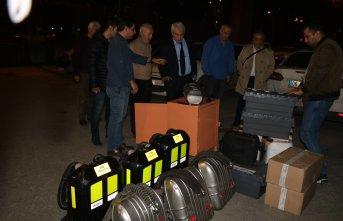 İstanbul'daki definecileri kurtarmak için Zonguldak'tan gittiler!