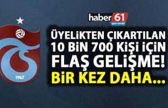 Trabzonspor'da üyelikten çıkartılan 10 bin kişiiçin flaş gelişme! Yönetim hazırlık yapıyor!
