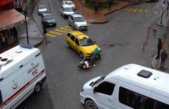 Rize'de sürücülerin sabırsızlıkları kazalara neden oldu
