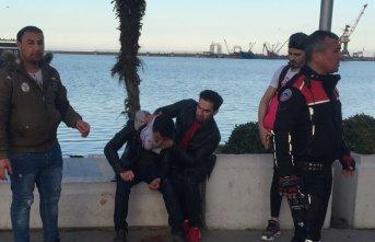 Samsun'da bıçaklı kavga: 2 Yaralı