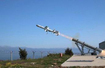Sinop'ta füze testi yapıldı