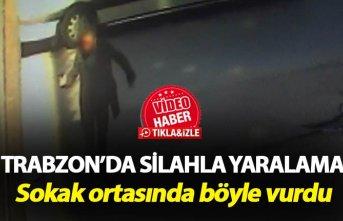 Trabzon'da silahla yaralama - Sokak ortasında...