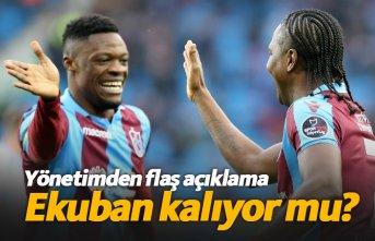Trabzonspor Ekuban'ı alıyor mu?