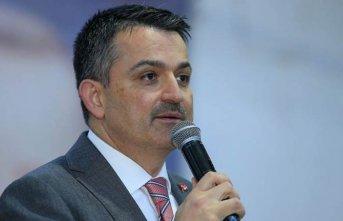 Bakan'an üreticiye destek açıklaması