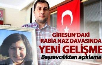 Başsavcılıktan Rabia Naz açıklaması - Babası...