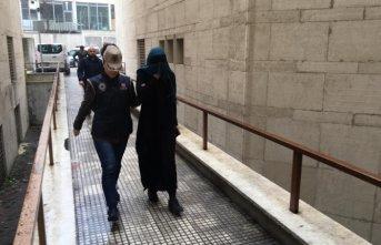 Bursa'da yakalanan DEAŞ'lı kadın terörist İnterpol'e teslim edildi!