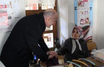 Mehmet Salih Akyüz: Üreten kadınlarımızın yanındayız!