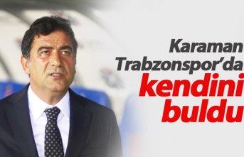 Karaman Trabzonspor'da kendini buldu