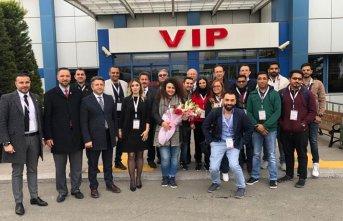 Katar seyahat acentası Trabzon'da misafir edildi