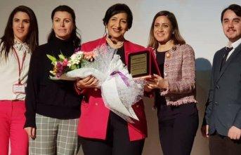 Örnek down annesi Trabzon Üniversitesi'nde konferans
