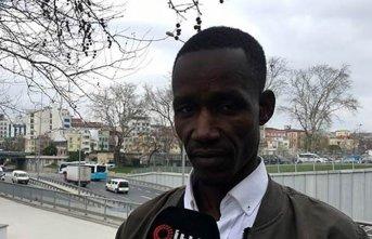 Senegalli yolcuya hayatının şokunu yaşattı!