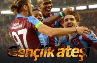 Trabzonspor'da gençlik ateşi yanıyor