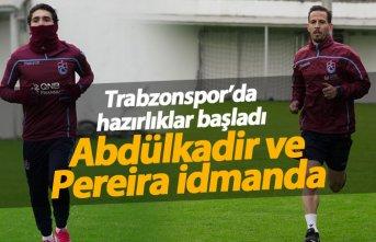 Trabzonspor'da hazırlıklar başladı