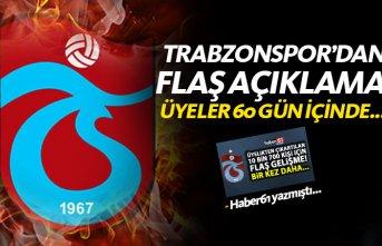 Trabzonspor'dan üyelikten çıkartılan 10 bin kişi için flaş gelişme! 60 gün içinde...