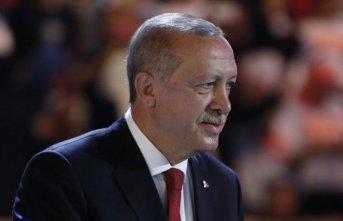Erdoğan'dan Milli Takım'a kutlama!