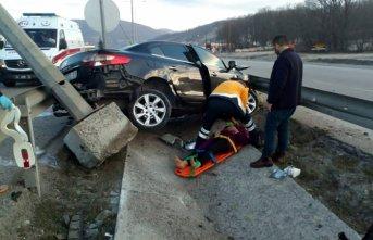 Samsun'da kaza: 6 yaralı