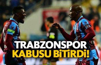 Trabzonspor fobisini yendi!