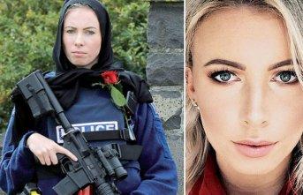 İşte dünyanın konuştuğu o kadın polis